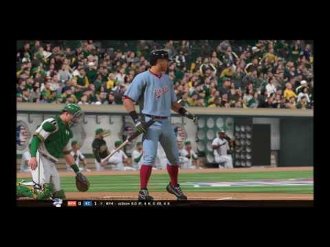 MLB The Show 16 Franchise Mode Oakland Athletics Episode 1: Opening Day