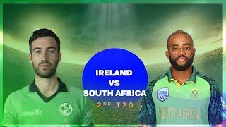 🔴Live: South Africa vs Ireland Live, 3rd T20 Live || SA vs IRE Live || Ireland vs South Africa Live