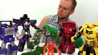 Роботы - Трансформеры снимаются в фильме - Игры для мальчиков