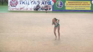 Сюбаева Олеся мяч Саранск