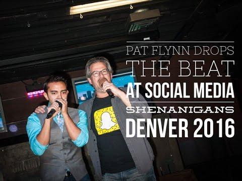 Pat Flynn Drops the Beat at Social Media Shenanigans 2016 in Denver