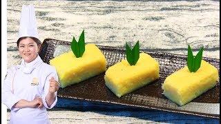 Cách làm Bánh Khoai Mì Nướng thơm ngon hấp dẫn / Bếp Xanh