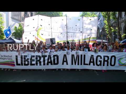 Argentina: Tens of thousands march against government cuts in Buenos Aires