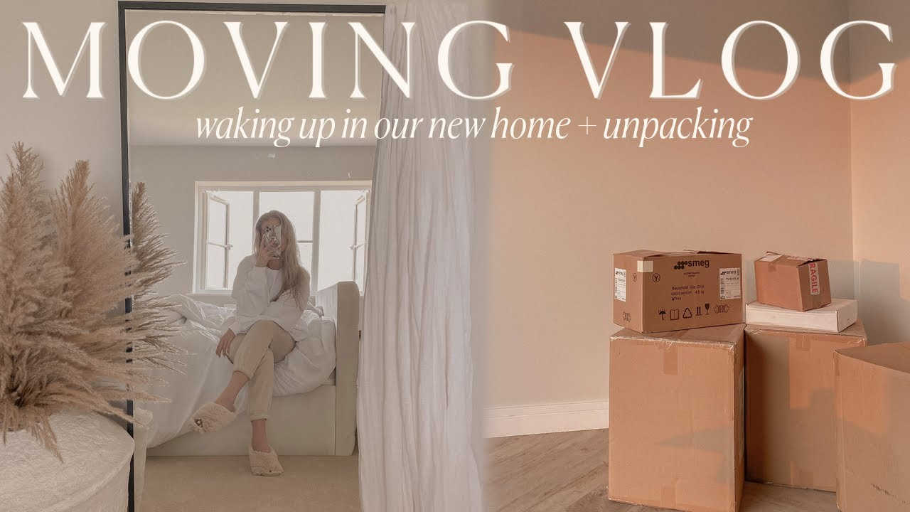 MOVING VLOG #4 | waking up in our countryside home + unpacking and organising