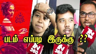 game over public review   game over public opinion   game over movie review   Taapsee Pannu   TN360