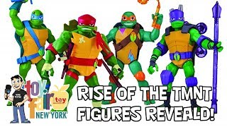 Rise of the Teenage Mutant Ninja Turtles Action Figures Revealed! - Pre Toy Fair 2018