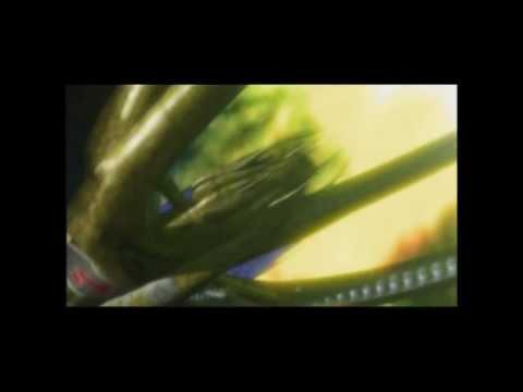 Babylon 5 scene: Vorlons confront a Shadow fleet