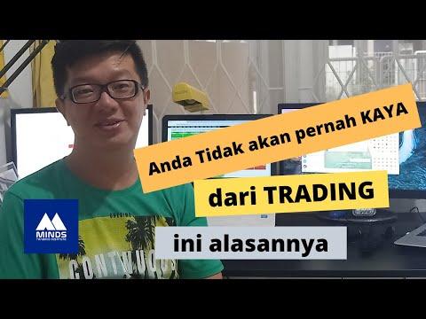 Anda Tidak Akan Kaya Dari Trading, Ini Alasannya