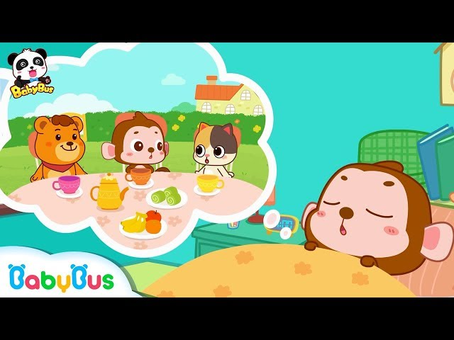 Nicky's Weird Dream Trip | Mr. Late is Not Late Any More | Picture Book Animation for Kids | BabyBus