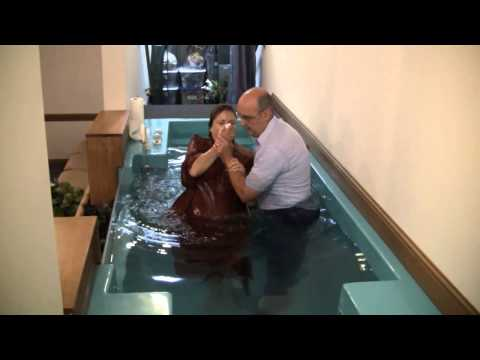 Sister Stacey Frisby's Baptism
