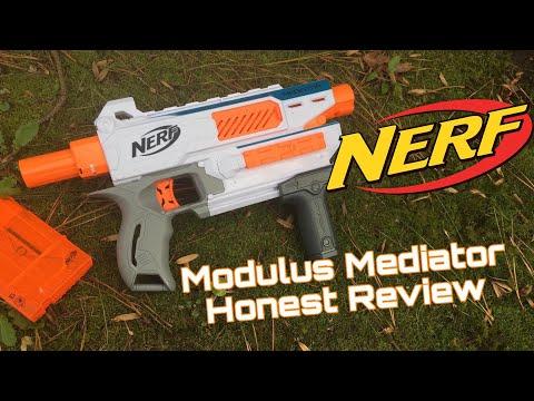Honest Review: Nerf Modulus Mediator (Compact Pump Action)