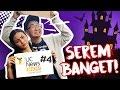Ariel Tatum EdhoZell OmTelolet di Rumah Hantu! Wkwkkk UC News Show#4