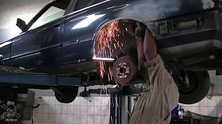 Working On The E30 Rust (part 1)