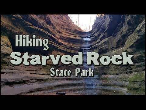 Hiking Starved Rock State Park - Illinois