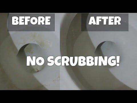 Remove Stubborn Toilet Stains