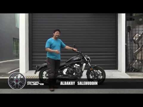 Kawasaki Vulcan S - Roda Pusing Ringkas