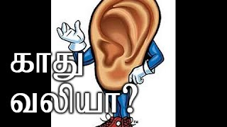 Home Remedy For Ear Pain (Tamil)