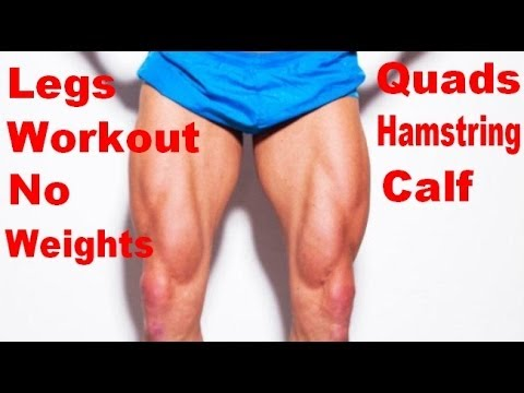 Legs Workout With Bodyweight Exercises