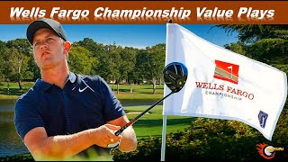 Wells Fargo Championship Value Plays 2021 | DFS GOLF | Fantasy Golf | Draftkings Picks and Golf Bets