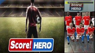 Score! hero sezon pierwszy pierwsze wyzwania