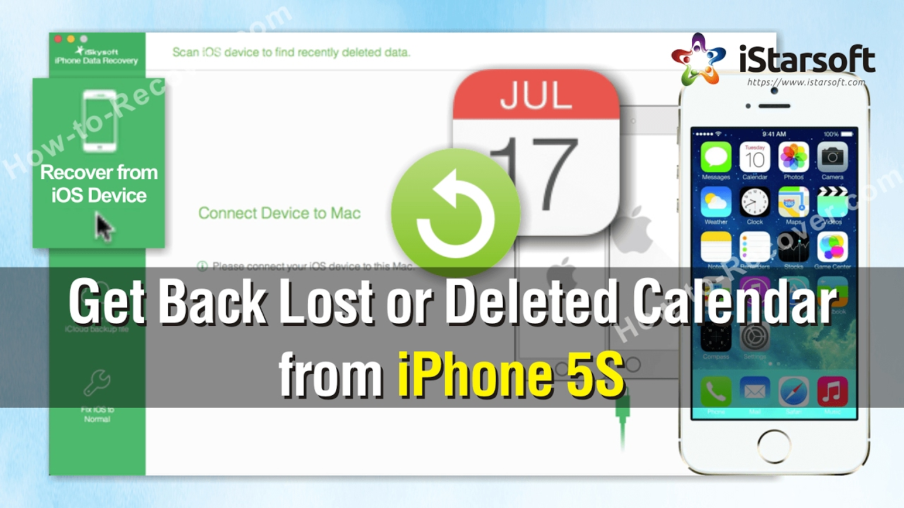 How to Get Back Lost or Deleted Calendar from iPhone 5S ...
