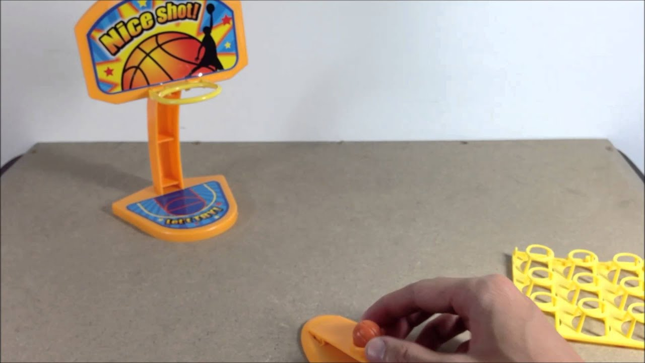 Attirant Tabletop Toy   Mini Basketball Set