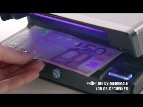 Safescan 70 Geldscheinprufgerat Youtube