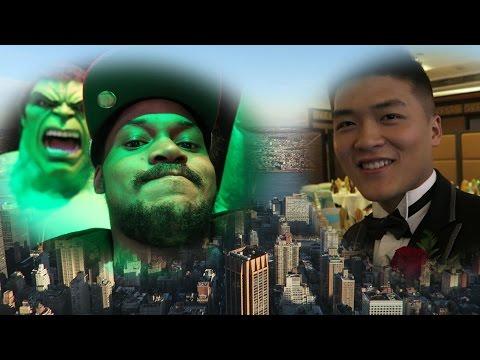HIGHEST BARS IN THE WORLD | New York [Wedding] Vlog 2016