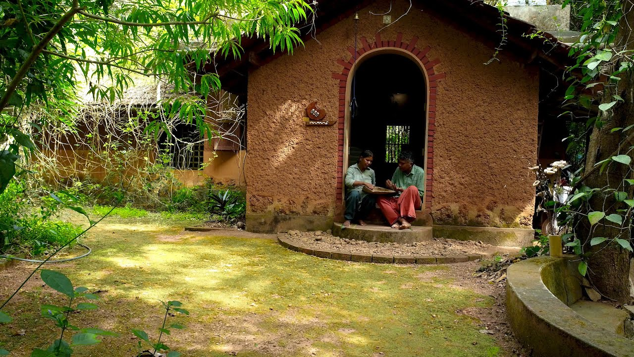 How a Kerala couple built a sustainable mud house of their dreams