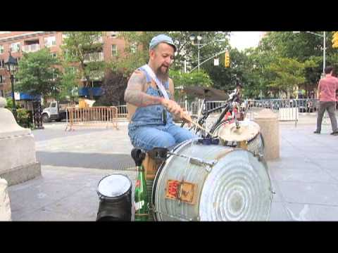 RicKy Syers at Washington Square Park N.Y.C.