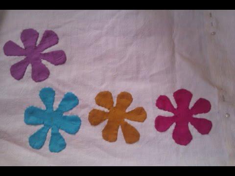 Applic  Work Tutorial; Basic Applic Part 4; Six Petals Flower