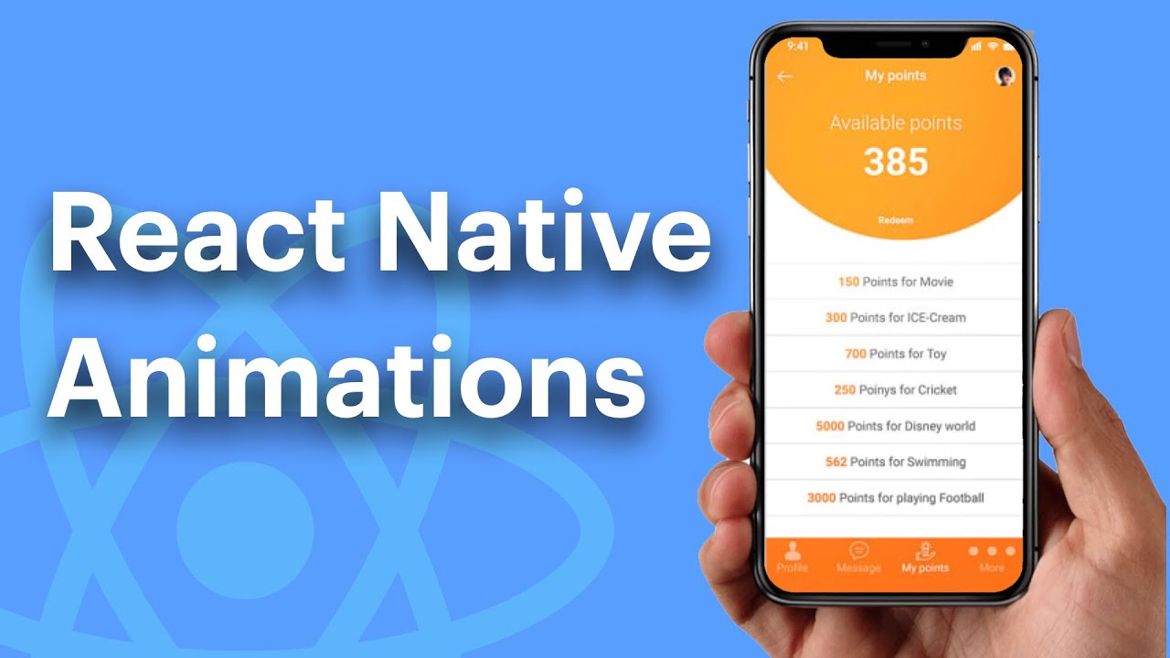 Introduction To React Native Animation