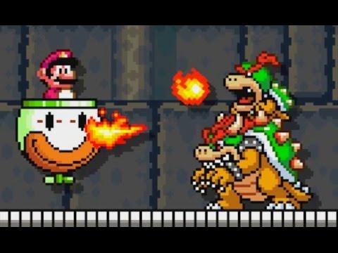 Super Mario Maker - 100 Mario Challenge #97 (Expert Difficulty)