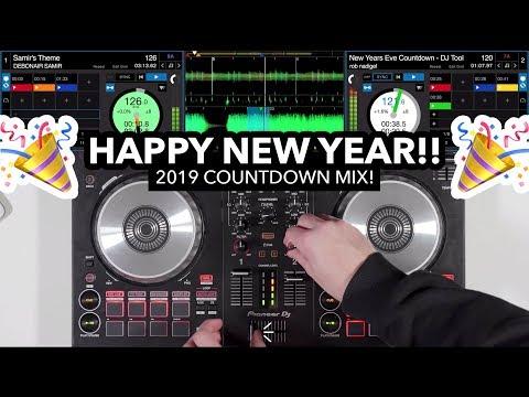 2019 Countdown DJ Mix on Pioneer DDJ SB3 (Happy New Year Everyone!)