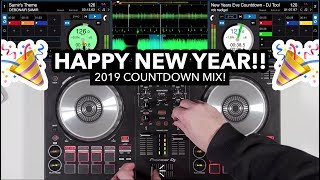 2019 Countdown DJ Mix on Pioneer DDJ SB3 (Happy New Year Everyone!)
