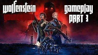 On arrete des scientifiques !!! l Wolfenstein YoungBlood l Part 3 Gameplay