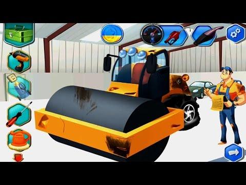 เกมส์ช่างซ่อมรถแทรกเตอร์ รถแมคโครตักดิน Mechanic Game