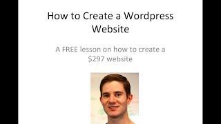 How to Make a Wordpress Website