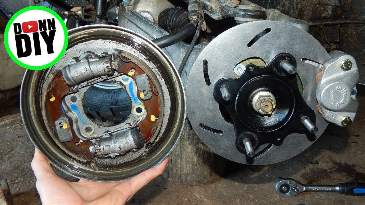 High Lifter Disc Brake Conversion Kit For Honda Foreman Youtube 1987 Trx 250 Wiring Diagram Free Picture