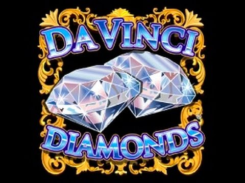 Da Vinci Diamonds Bonus free spins max bet with re-triggers