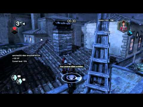 Assassin's Creed Brotherhood - The Knight Wanted Gameplay |