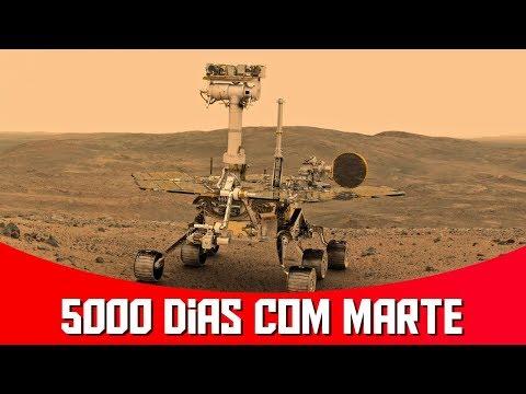 Rover Opportunity está Completando 5000 Dias em Marte! | AstroPocket News