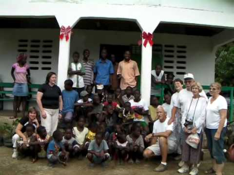 Haiti - Singing in Creole, Soaring Clinic Dedication