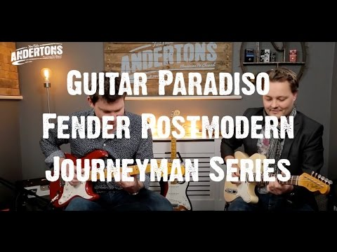 Guitar Paradiso - Fender Postmodern Journeyman Series - Mick & Pete Goes on a Journey Man...