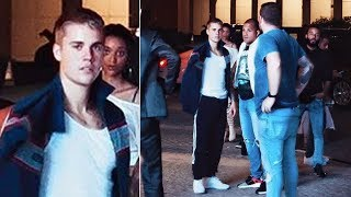 Where's Selena? Justin Bieber was spotted at a hotel in Dubai - and fans are freaking