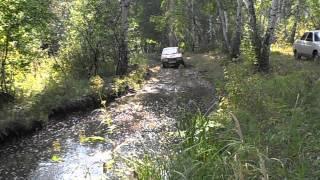 Нива, ВАЗ 2108 преодоление водной преграды
