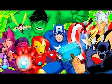 Мультфильм мстители величайшие герои земли смотреть онлайн 1 сезон