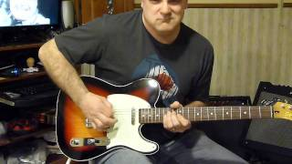 Bruce Springsteen & the E Street Band - Cadillac Ranch - guitar cover