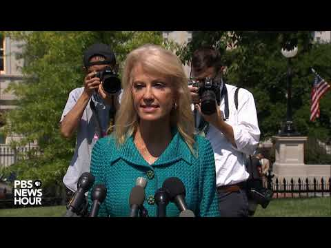 WATCH: Kellyanne Conway asks White House reporter to reveal his ethnicity