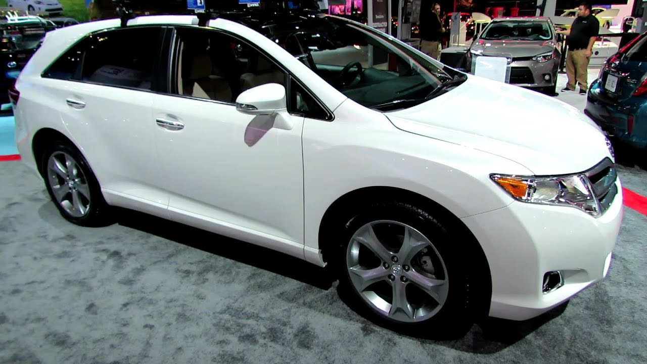 2014 Toyota Venza XLE   Exterior And Interior Walkaround   2013 LA Auto  Show   YouTube